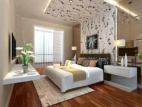 卧室电视背景墙设计案例展示
