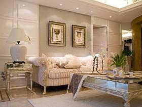 歐式客廳單身公寓裝修案例