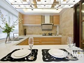 中式新中式厨房效果图