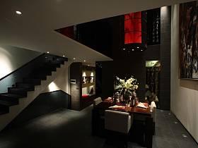 中式中式风格餐厅别墅装修效果展示