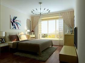 现代简约卧室吊顶装修效果展示