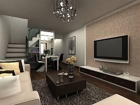 简约简约风格客厅电视背景墙电视墙案例展示