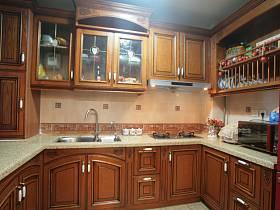 美式美式风格厨房图片