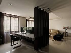 现代客厅隔断案例展示