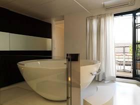 别墅浴室窗帘设计案例展示