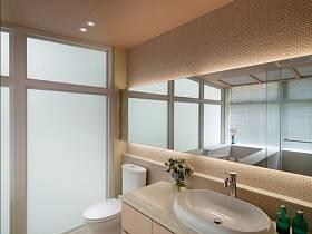 简欧别墅浴室设计案例