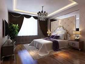 欧式卧室电视柜卧室家具设计案例