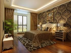 法式榜样卧室别墅吊顶图片