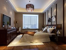 新中式卧室图片