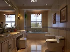 欧式卫生间别墅设计图