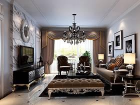 客厅沙发电视柜单人沙发设计方案