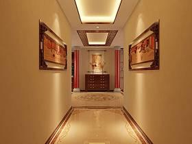 中式走廊过道装修效果展示