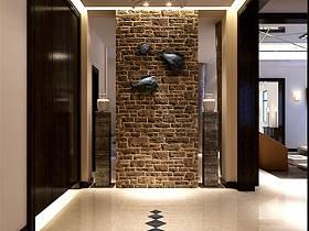 现代现代风格玄关玄关柜装修案例