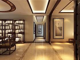 中式中式风格新中式走廊过道效果图