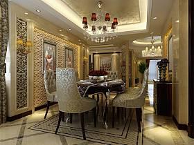 欧式餐厅设计案例