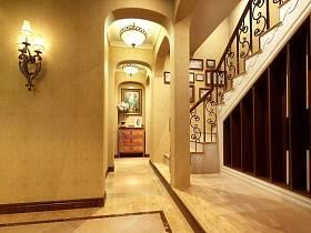 欧式别墅楼梯案例展示