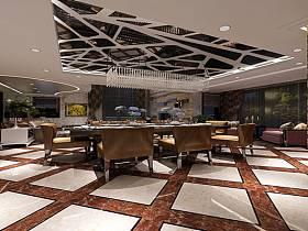 新古典古典新古典风格古典风格餐厅跃层吊顶装修图
