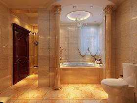 欧式浴室装修效果展示