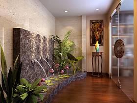 中式中式风格休闲区设计图
