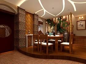 混搭混搭风格餐厅跃层装修效果展示