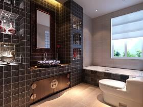 中式浴室设计案例