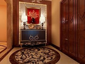 混搭混搭风格玄关跃层玄关柜设计方案
