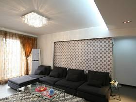 简约客厅背景墙沙发客厅沙发案例展示