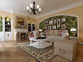 田园田园风格客厅沙发图片