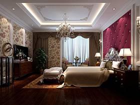 歐式歐式風格臥室設計案例展示