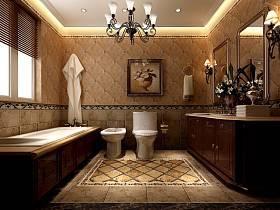 欧式浴室淋浴房设计方案