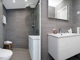 北欧浴室淋浴房案例展示