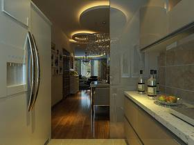 现代现代风格厨房案例展示