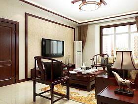 中式客厅设计方案