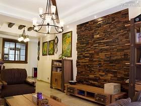 客厅背景墙沙发储物柜案例展示