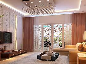客厅沙发灯具设计案例展示