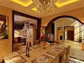 欧式餐厅别墅案例展示