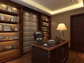 中式中式风格书房设计方案