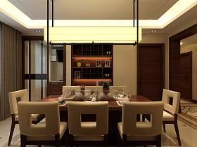 中式中式风格餐厅设计方案