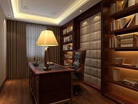 中式中式风格书房设计图