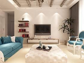 地中海地中海风格背景墙电视背景墙设计案例