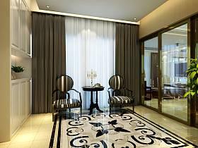 现代窗帘设计案例