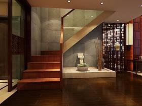 中式楼梯装修图