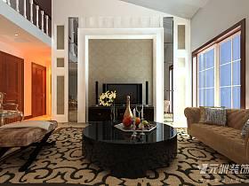 欧式客厅电视背景墙设计方案