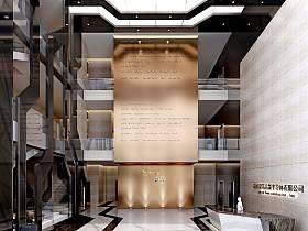 现代现代风格大厅案例展示