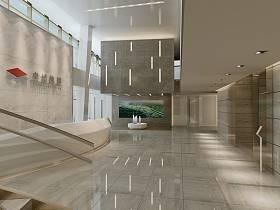 现代现代风格大厅设计方案