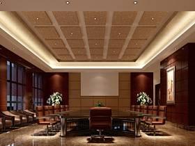 美式美式风格会议室设计案例