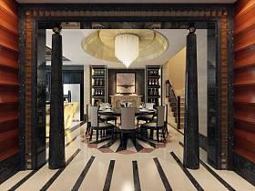 新古典古典新古典風格古典風格餐廳設計方案