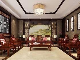 中式中式風格茶館效果圖