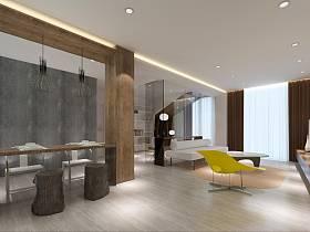 简约餐厅单身公寓设计案例展示