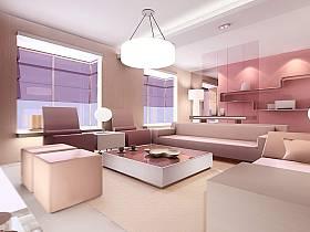 客厅沙发客厅吊灯设计案例